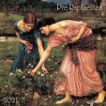 Kalendář 2021 Pre-Raphaelites