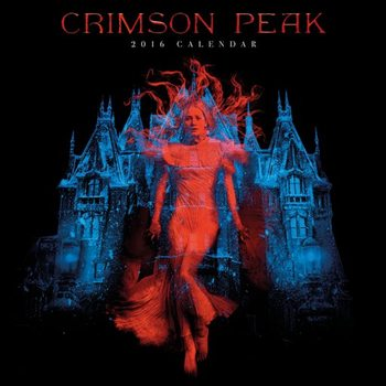 Kalendář 2018 Purpurový vrch (Crimson Peak)