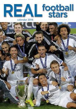 Kalendár 2017 Real Madrid Football
