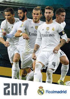 Kalendář 2017 Real Madrid