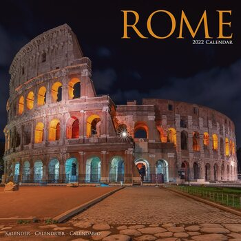 Kalendář 2022 Řím