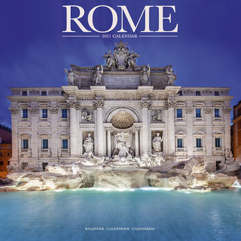 Kalendár 2021 Rím