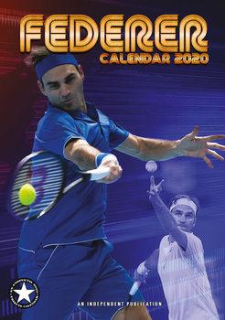 Kalendář 2020  Roger Federer