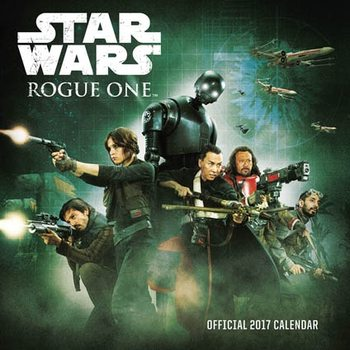 Kalendár 2017 Rogue One: A Star Wars Story
