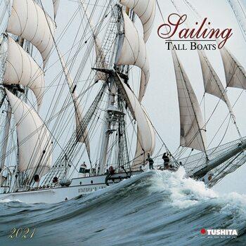 Kalendár 2021 Sailing - Tall Boats