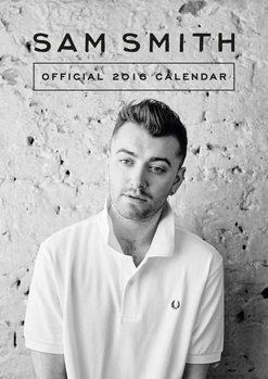 Kalendář 2017 Sam Smith