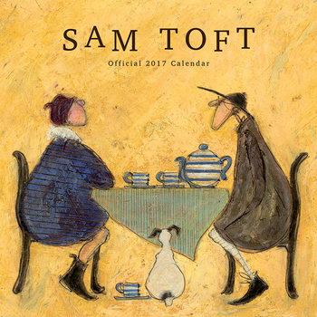 Kalendár 2017 Sam Toft