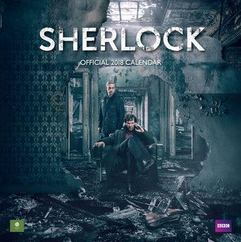 Kalendář 2018 Sherlock