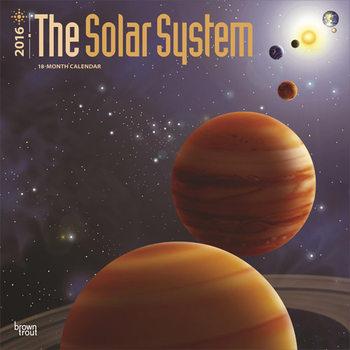 Kalendár 2020 Slnečná sústava