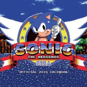 Kalendář 2021 Sonic