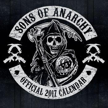 Kalendár 2017 Sons of Anarchy