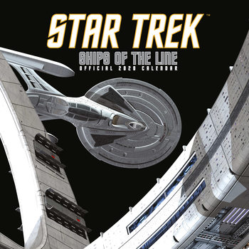Kalendář 2020  Star Trek: Ships Of The Line