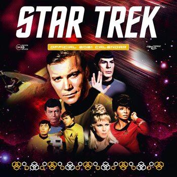 Kalendář 2021 Star Trek - TV series - Classic