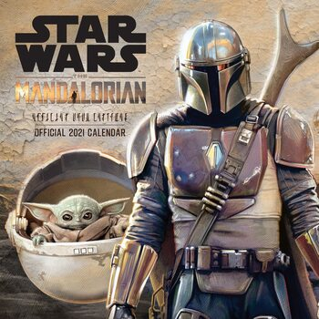 Kalendář 2021 Star Wars: The Mandalorian