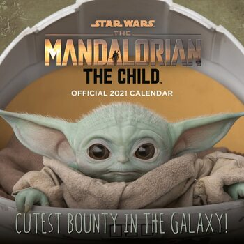 Kalendár 2021 Star Wars: The Mandalorian - The Child (Baby Yoda)