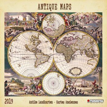 Kalendář 2019  Staré mapy