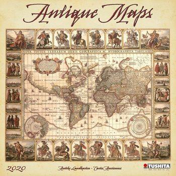 Kalendář 2020  Staré mapy
