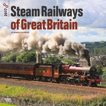 Kalendár 2017 Steam Railways of Great Britain