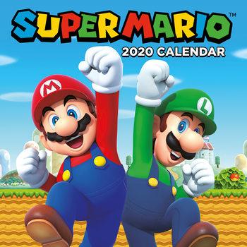 Kalendář 2020  Super Mario