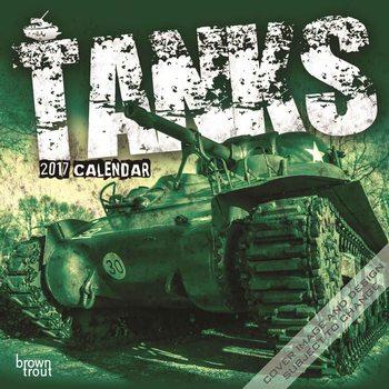 Kalendář 2017 Tanks