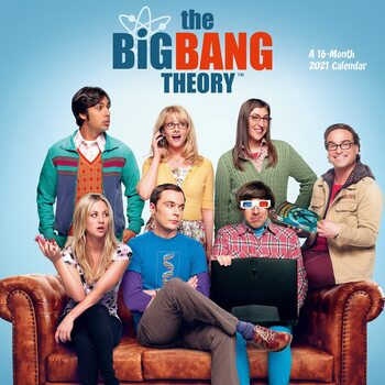 Kalendár 2021 The Big Bang Theory