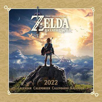 Kalendář 2022 The Legend of Zelda