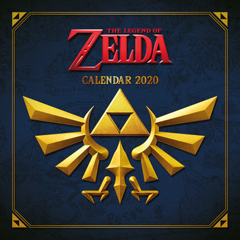 Kalendář 2021 The Legend of Zelda
