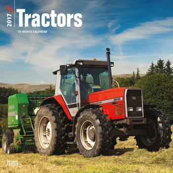Kalendář 2017 Tractors