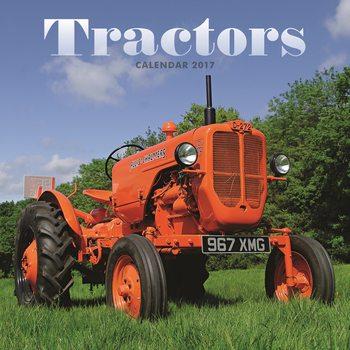 Kalendár 2017 Tractors