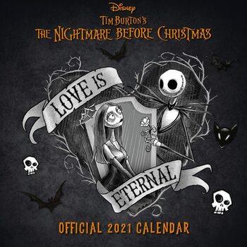 Kalendář 2021 Ukradené Vánoce Tima Burtona