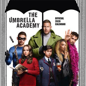 Kalendár 2020 Umbrela Academy