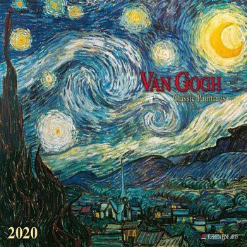 Kalendář 2020  Van Gogh - Classic Works