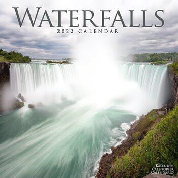 Kalendář 2022 Vodopády