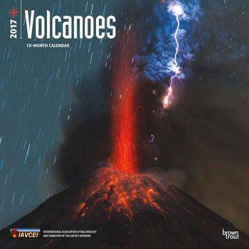 Kalendář 2017 Volcanoes