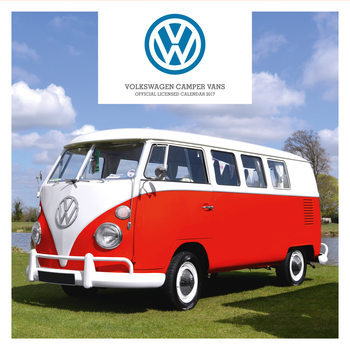 Kalendár 2017 Volkswagen - Camper Vans