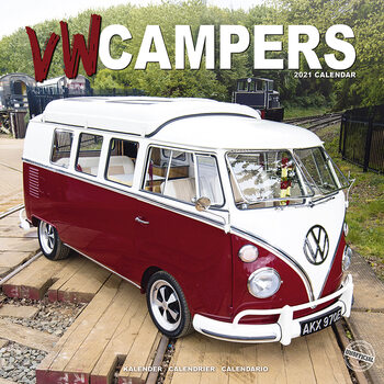 Kalendář 2021 VW Campers