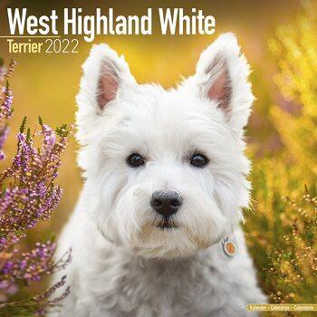 Kalendář 2022 West Highland Teriér