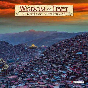 Kalendár 2018 Wisdom of Tibet