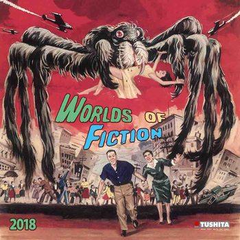 Kalendár 2018 Worlds of Fiction