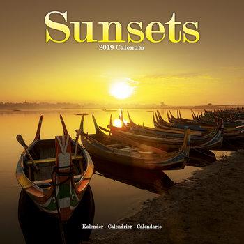 Kalendář 2019  Západy Slunce