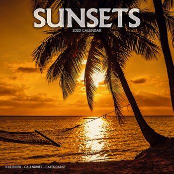 Kalendář 2020  Západy Slunce