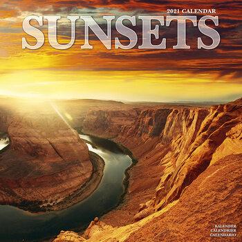 Kalendář 2021 Západy Slunce