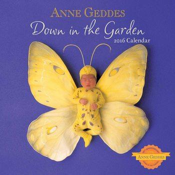 Anne Geddes - Down in the Garden Kalendar 2017