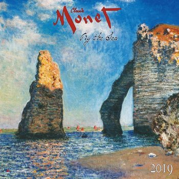 C. Monet - By the Sea Kalendar 2019