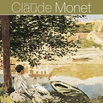 Claude Monet Kalendar 2021