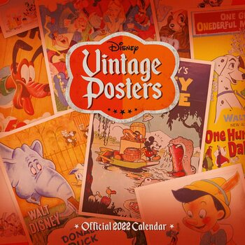Disney - Vintage Posters Kalendar 2022