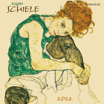 Egon Schiele Kalendar 2022