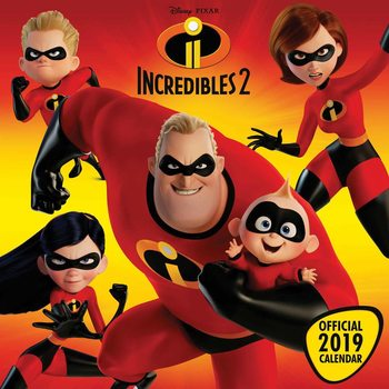 Incredibles 2 Kalendar 2020