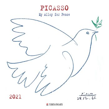 Pablo Picasso - My Alloy For Peace Kalendar 2021