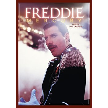 Queen - Freddie Mercury Kalendar 2021